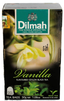Dilmah Vanilla Flavoured  Black Tea 20 bags