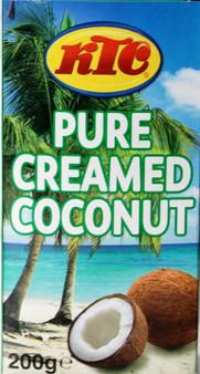 KTC Pure Creamed Coconut 200g