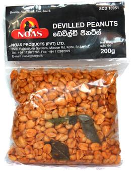 Noas Devilled Peanuts 200g