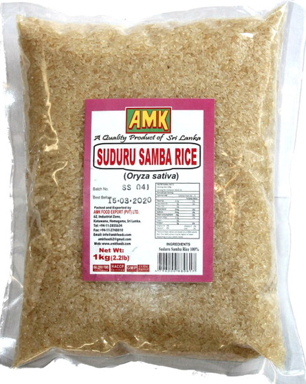AMK Suduru Samba Rice 1kg