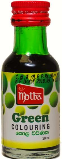Motha Green Food Colouring 28ml
