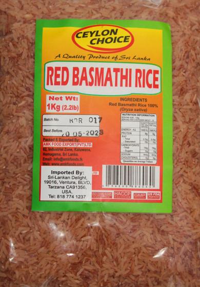 AMK Red Basmati Rice 1kg