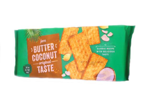Jans Butter Coconut  6.7 OZ