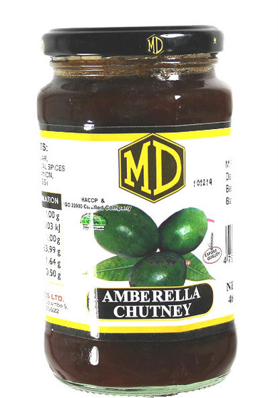 MD Amberella Chutney 460g