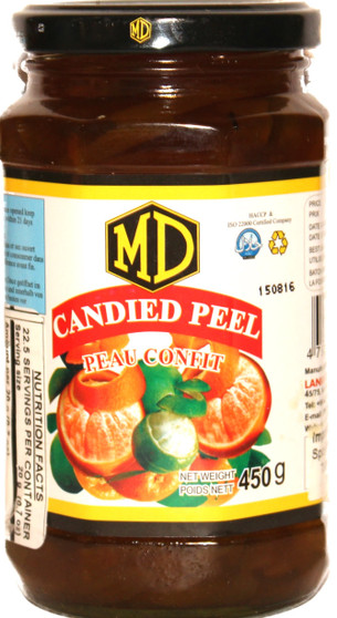 MD Candied Peel 454g
