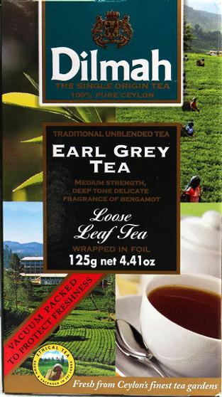Dilmah Earl Grey Loose leaf Tea 125g