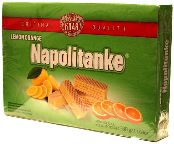 Napolitanke Lemon Orange Wafers 11.6 OZ