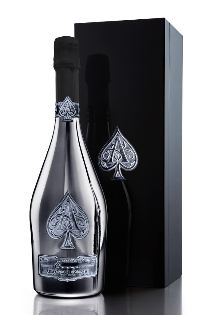 "Armand de Brignac Blanc de Noirs ""A3"" in Gift Box (Ace of Spades)"