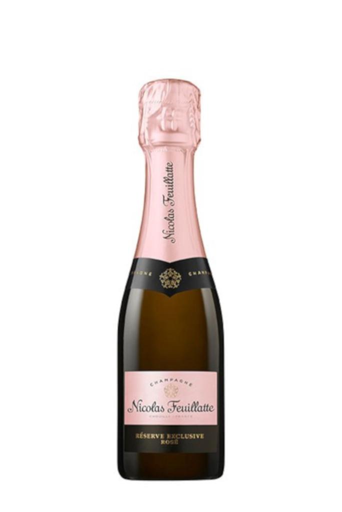 Nicolas Feuillatte Reserve Exclusive Rose (187ml Mini/Split Bottle)