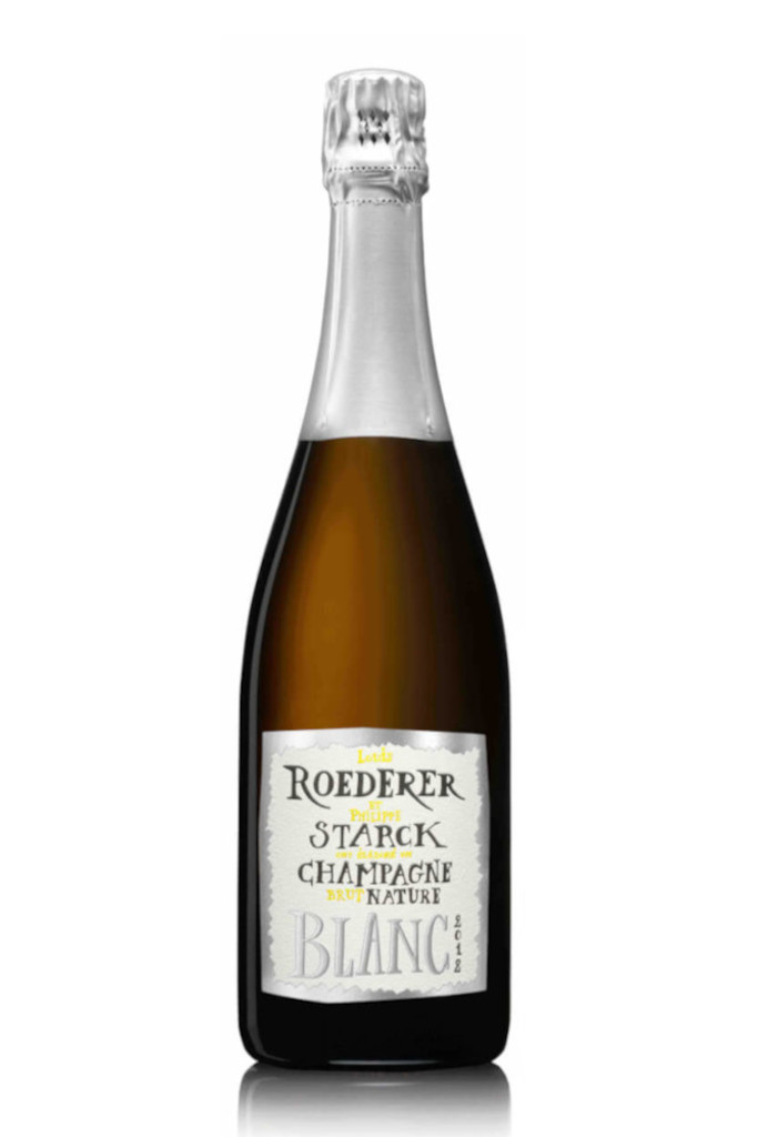 Louis Roederer Brut Nature 2012 by Philippe Starck