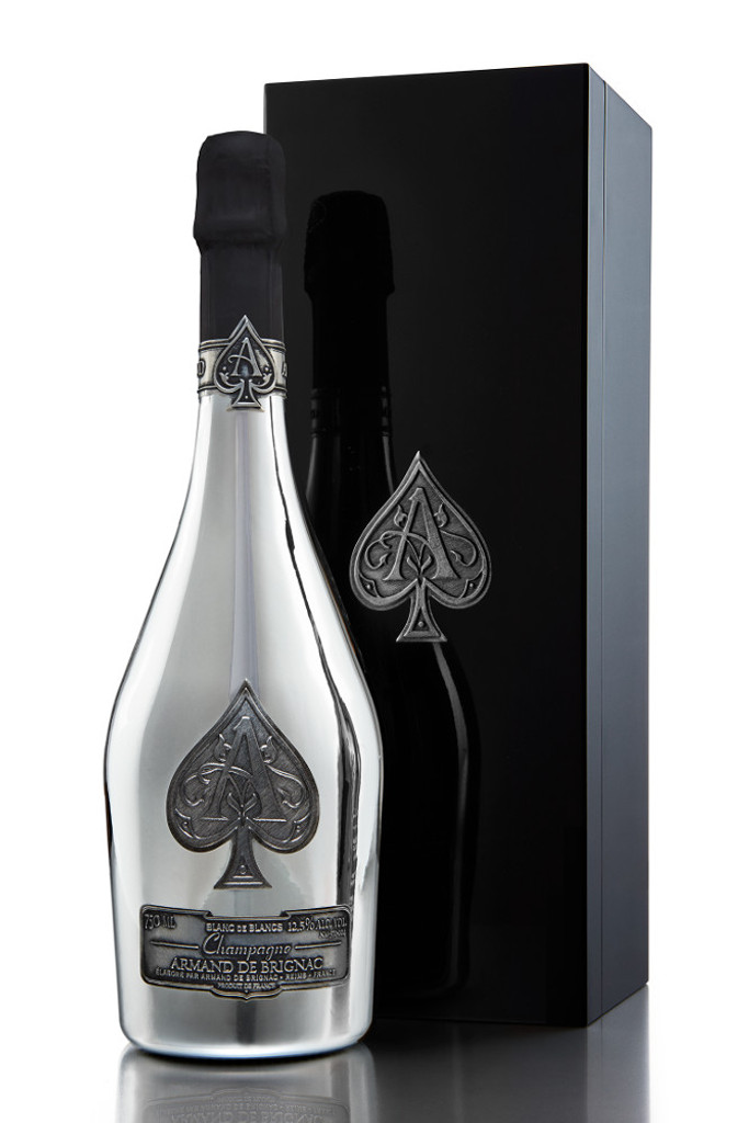 Armand de Brignac Blanc de Blancs Platinum in Gift Box (Ace of Spades)