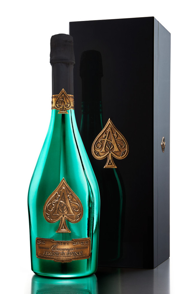 Armand de Brignac Brut Limited Edition Green in Gift Box (Ace of Spades)