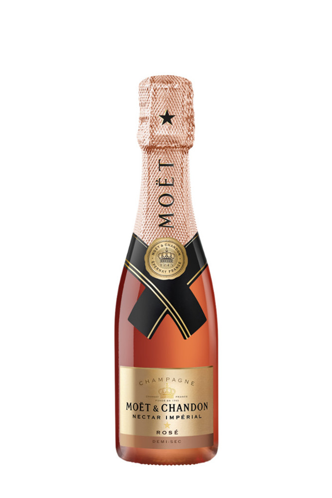 Moet & Chandon Nectar Imperial Rose (187ml Mini/Split Bottle)