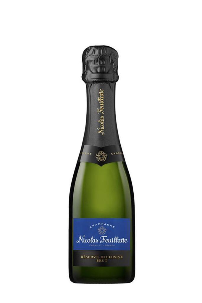 Nicolas Feuillatte Reserve Exclusive Brut (187ml Mini/Split Bottle)