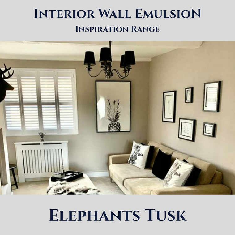 Interior Wall Emulsion - Inspiration Range (3 Litre)