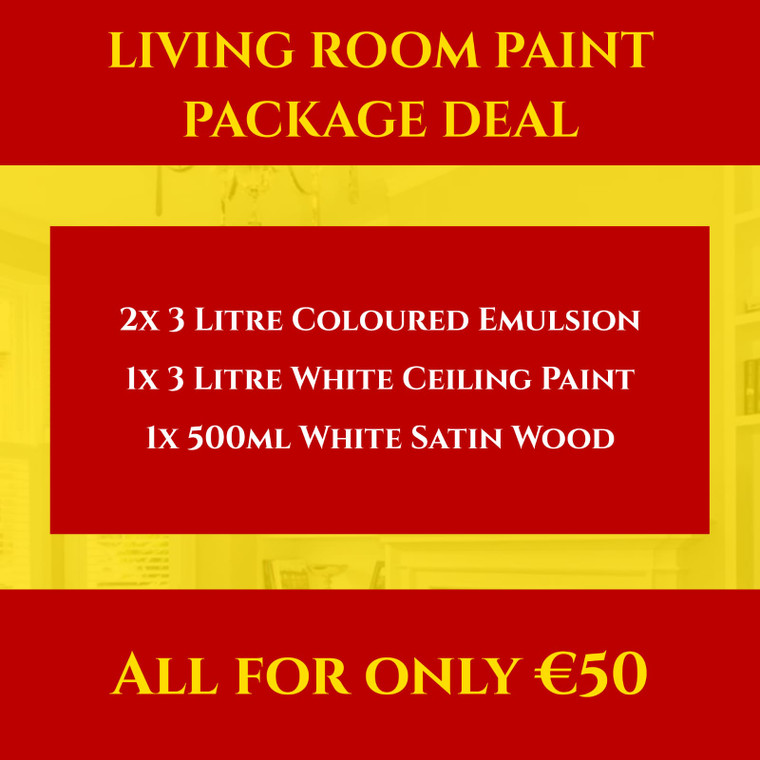 Living Room Paint Package Deal