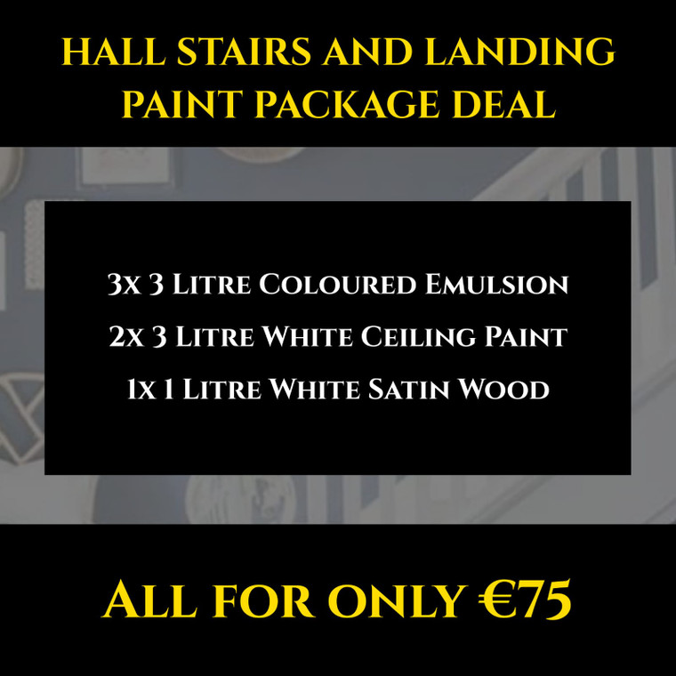 Hall Stairs And Landing Paint Package Deal