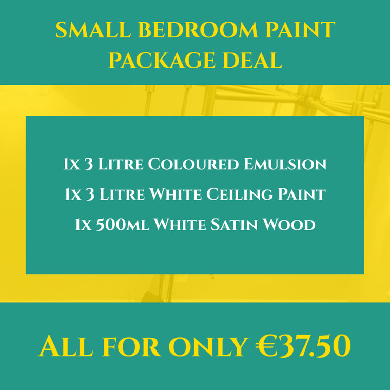 Small Bedroom Paint Package Deal