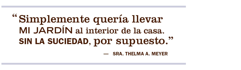 Cita sobre ingredientes de Thelma