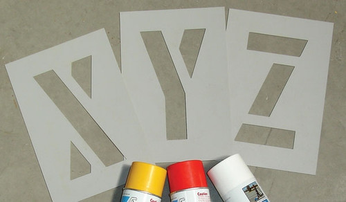 Custom designed stencils - POA