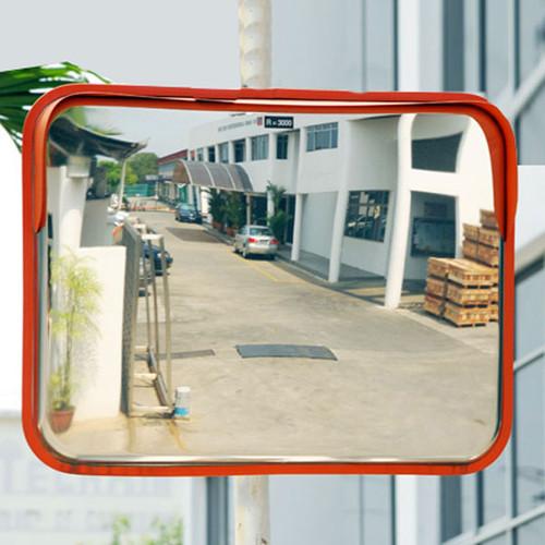 Wide Angle Rectangular Convex Mirror