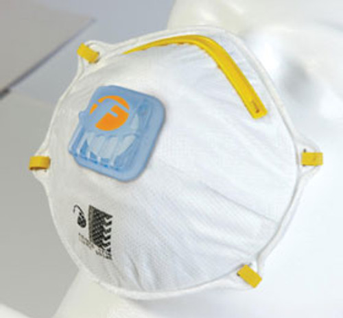 P1 Disposable respirator with valve **CURRENTLY OUT OF STOCK, TAKING BACK ORDERS**