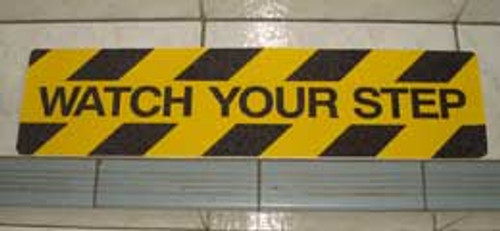 Safety Stair Marker - Watch Your Step