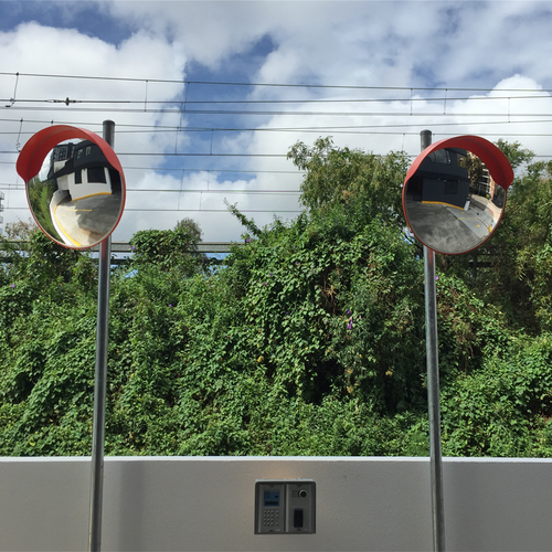 Standard External Convex Safety Mirror