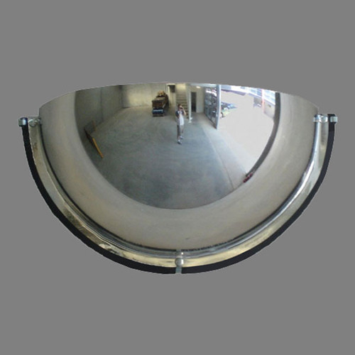 Half Dome Safety Mirror with fixings