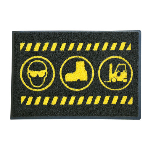 Safety mat - Multi message