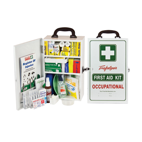 Expanded Workplace First Aid Kit - Metal
