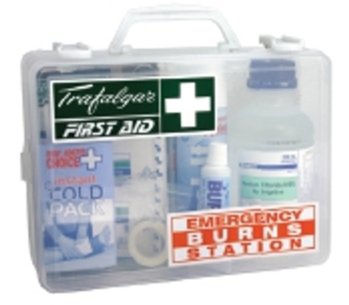 Emergency Burns Station First Aid Kit