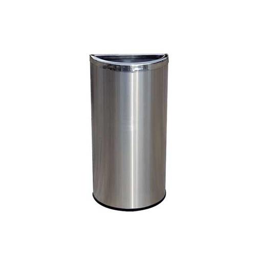 14 litre half round waste bin