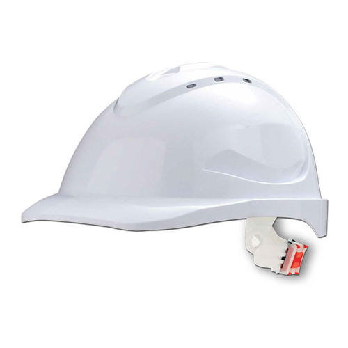V6 Push Lock Harness Hard Hat - Available in 8  different colours