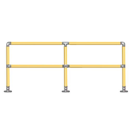 Quickclamp handrail 4m run