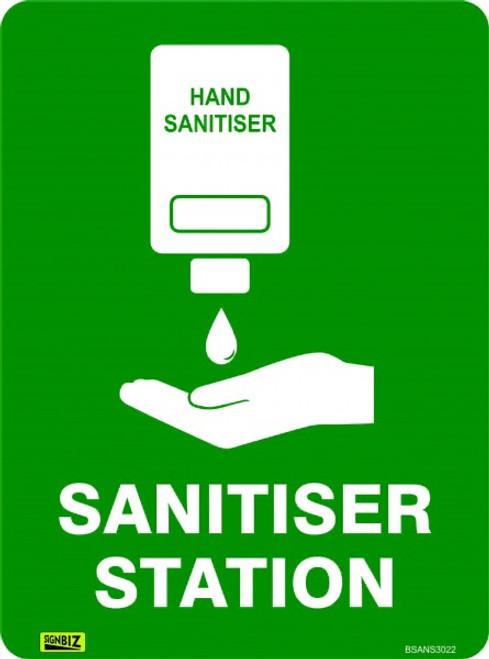 Covid 19 - Sanitiser Station Sign