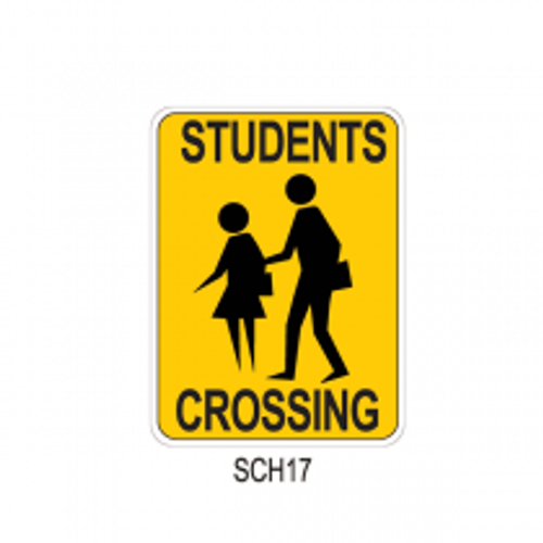STUDENTS CROSSING