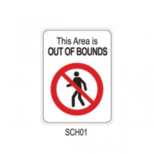 THIS AREA IS OUT OF BOUNDS