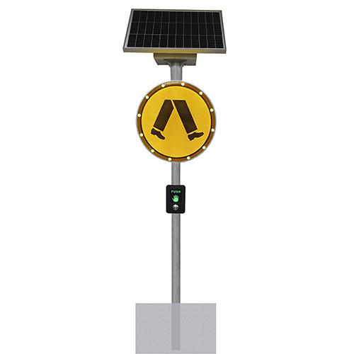 Solar Pedestrian Warning System