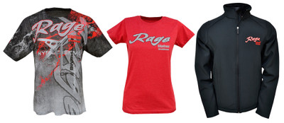 Show Off Your Obsession with Rage's Full Line of Branded Apparel