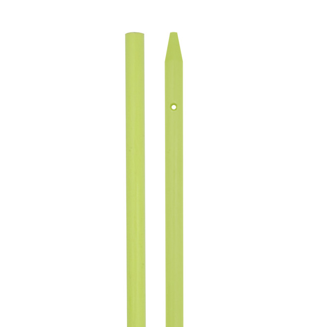 "Chartreuse Fiberglass Shaft 32"""