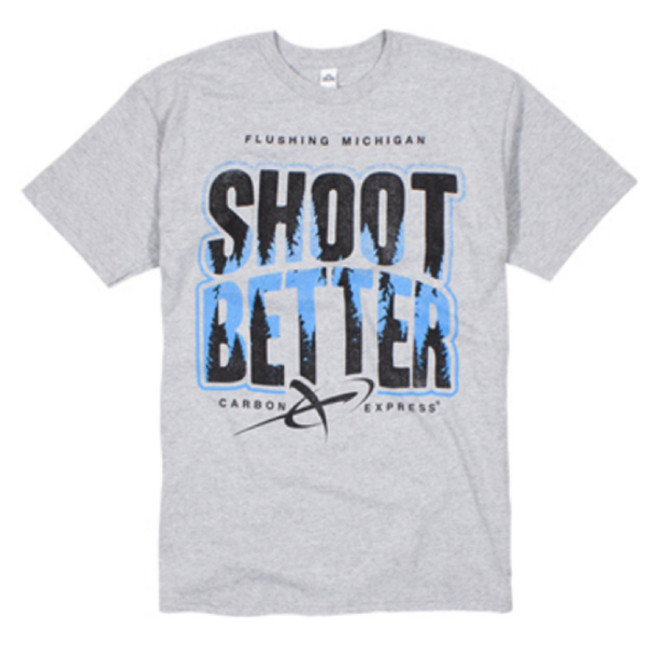 CX Shoot Better Tee Gray