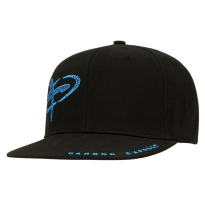 Urban Flat Bill Flex Fit Cap Black-Blue
