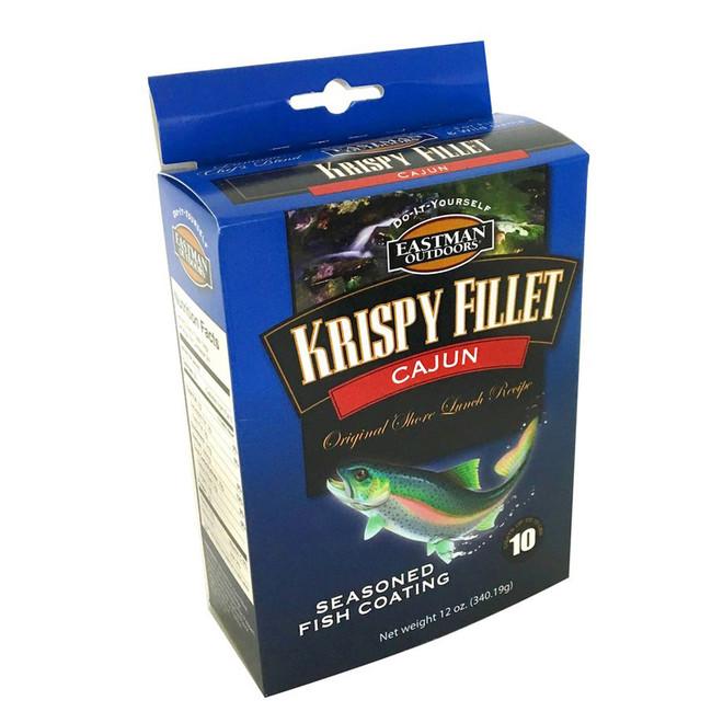 Krispy Fillet Cajun label