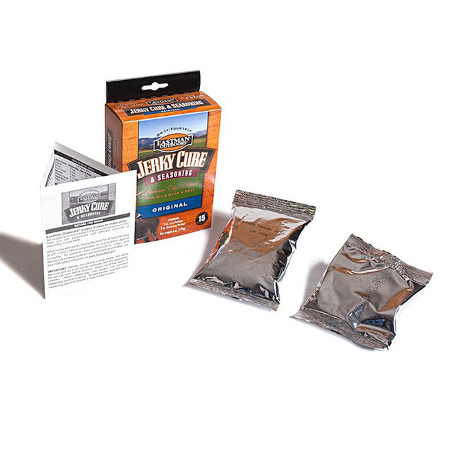 Original Flavor Jerky Cure and Seasoning for 15 Pounds components