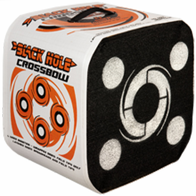 Stops ALL Fieldtips and Broadheads Black Hole 4 Sided Archery Target