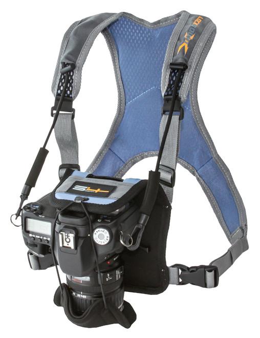 LockDown X Camera Harness - Blue
