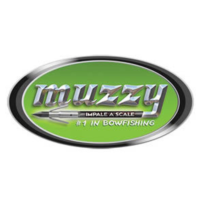 "MUZZY ""Impale a Scale"" 5-inch Oval Decal"
