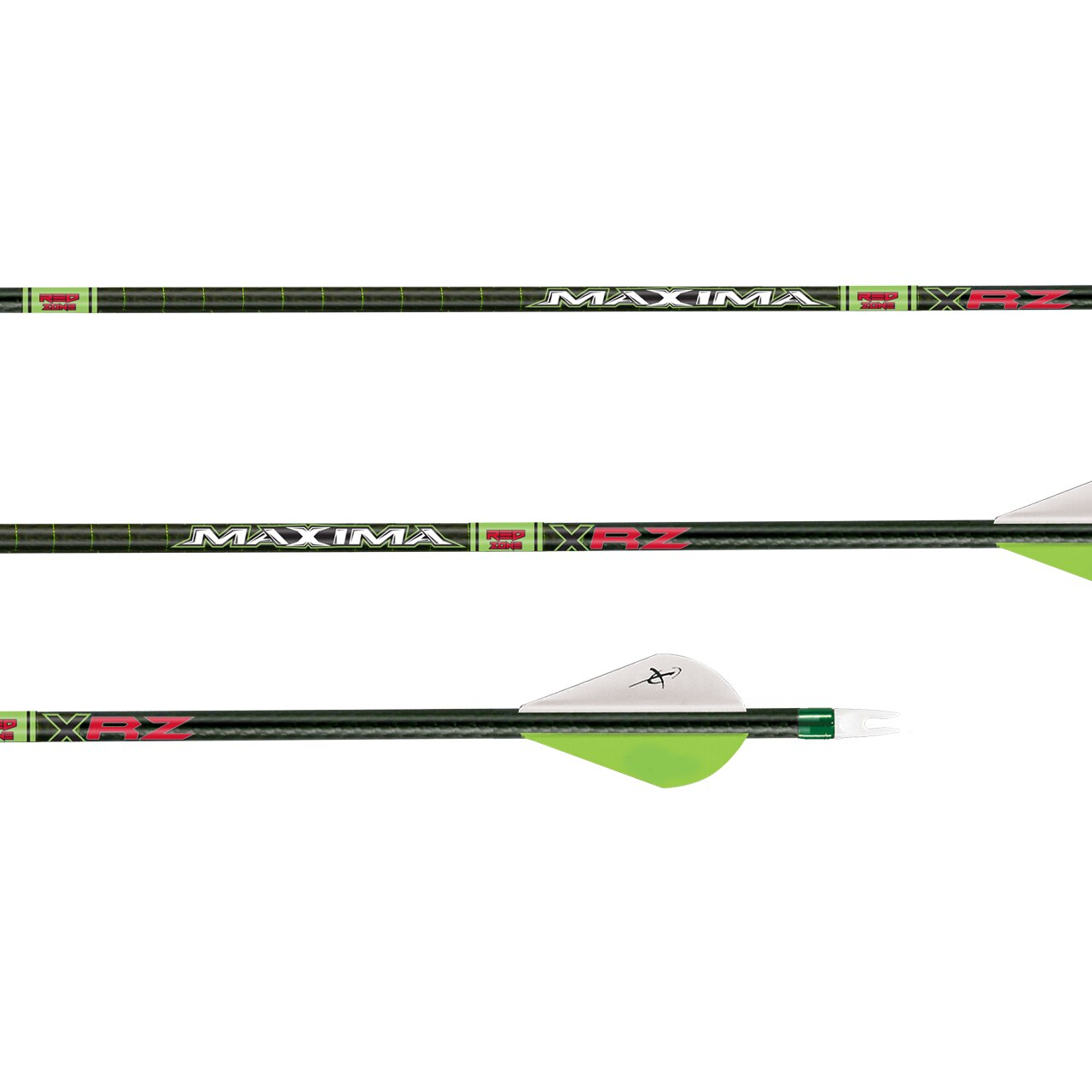 CX Carbon Express Maxima XRZ 6-Pack 350 Spine Bow Hunting Arrows