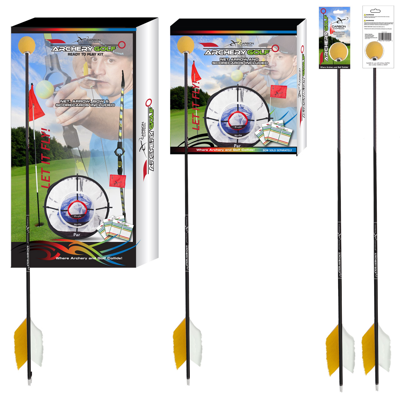 Carbon Express Eastman Outdoors Thunder Express II 26-Inch Youth Arrows